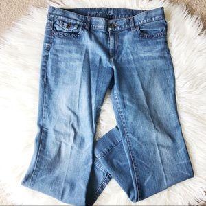 Ann Taylor Loft Modern Flare Jeans